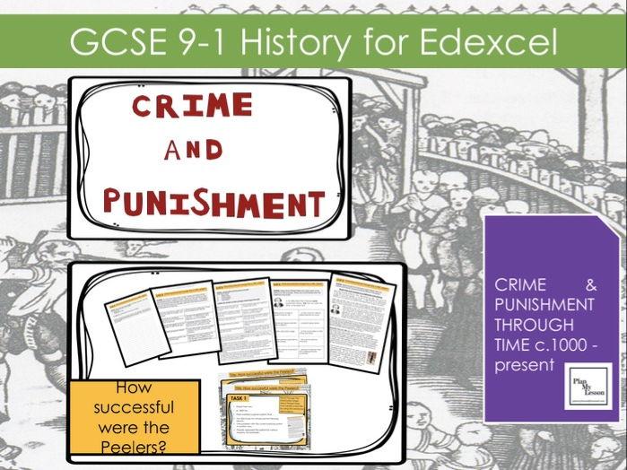 Edexcel GCSE 9-1 History Crime & Punishment: L24 Robert Peel:  How successful were the Peelers?