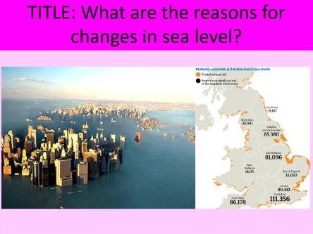 Sea Level Change - AS Level