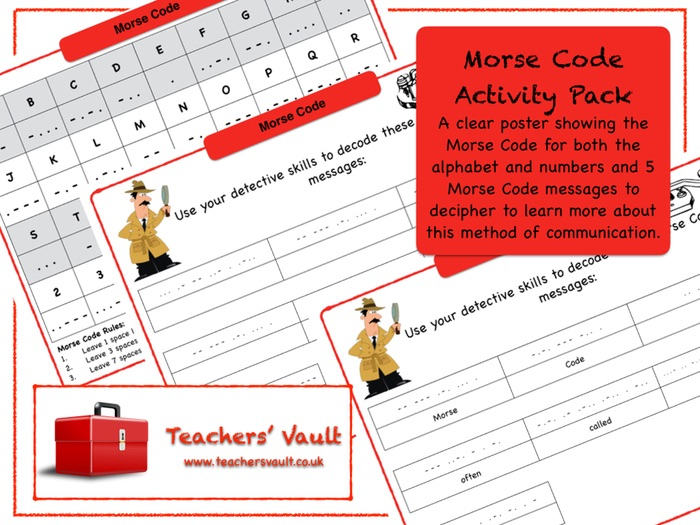 Morse Code Activity Pack