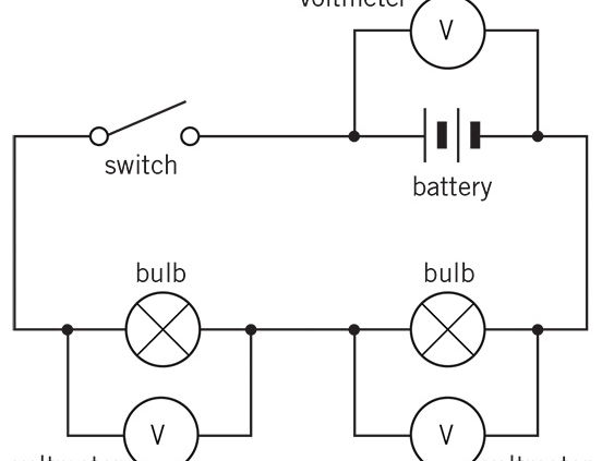 series and parallel electrical circuits