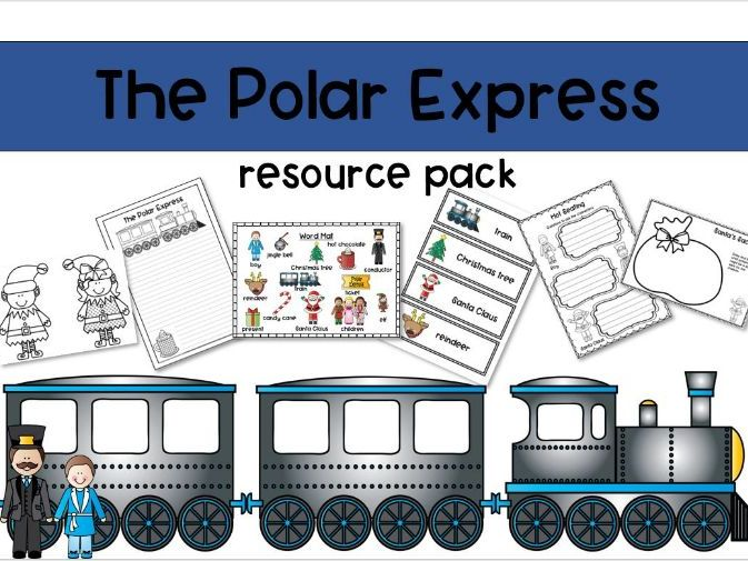 Polar Express Resource Pack for EYFS and KS1