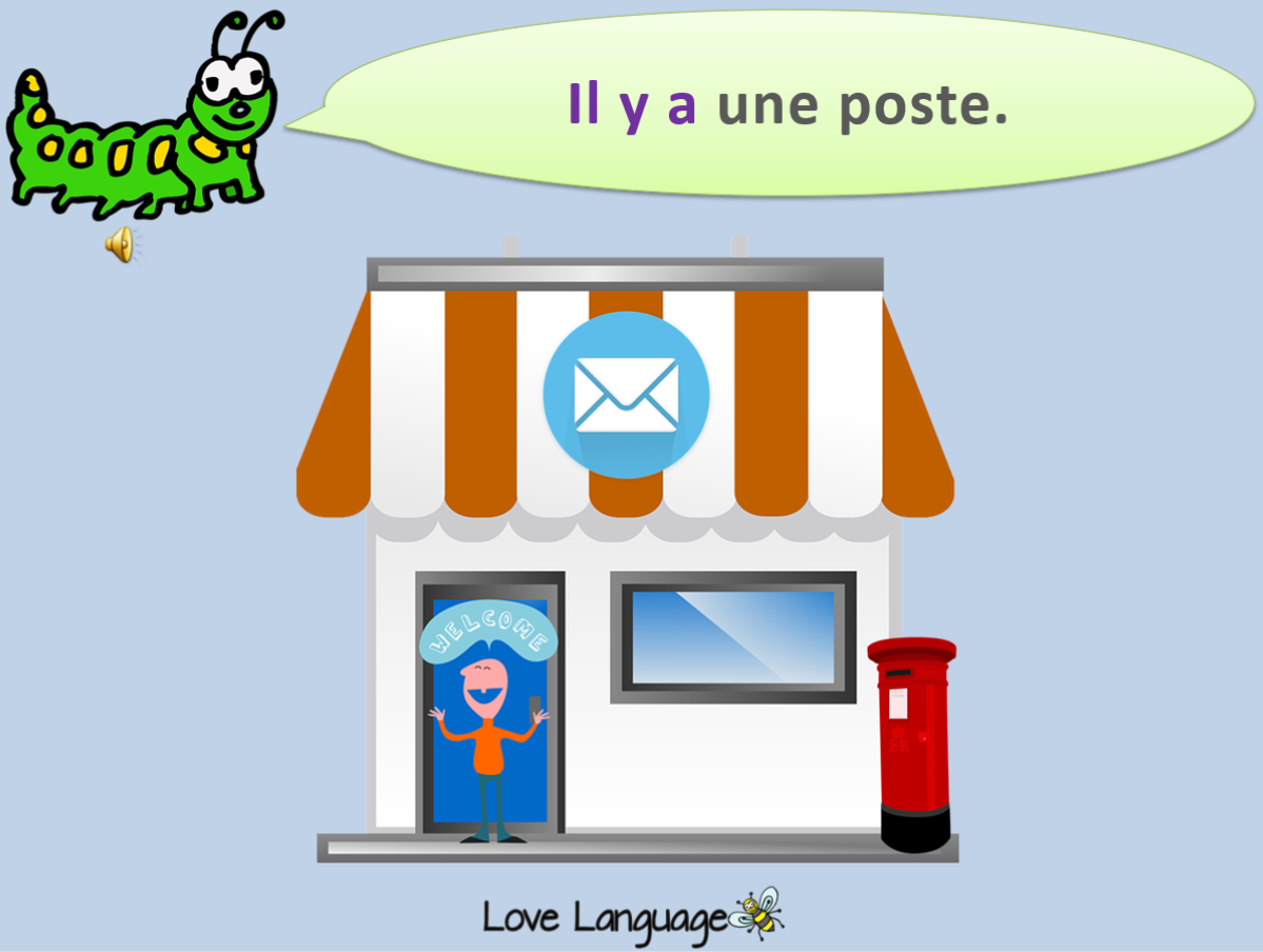 French Local Community - Buildings, landmarks and local amenities - PowerPoint