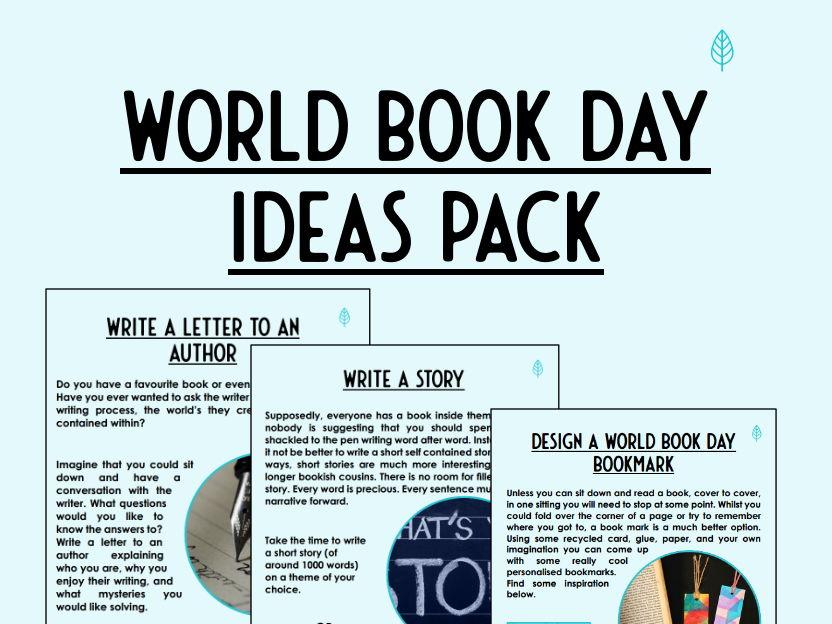 10 World Book Day Activities