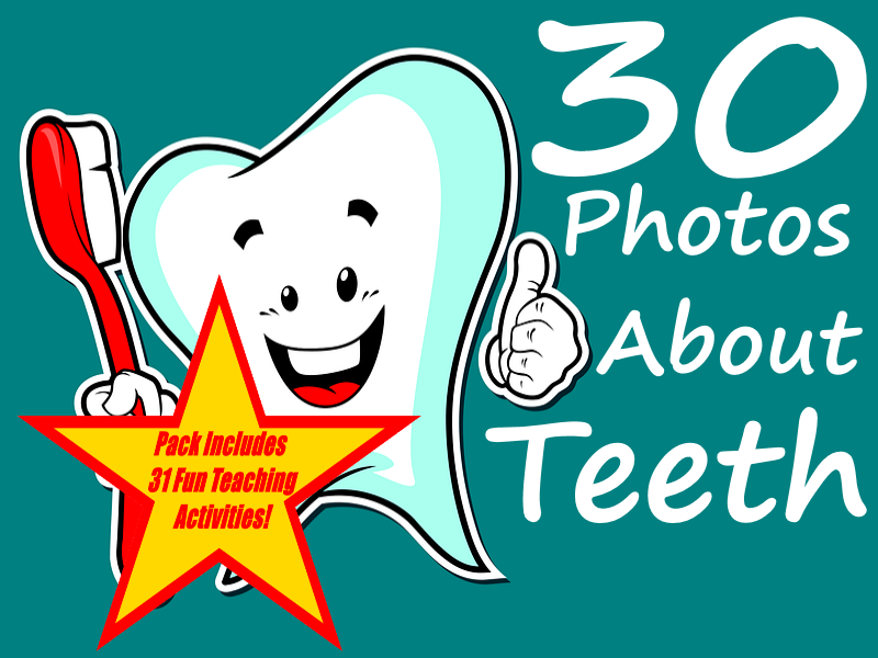 Teeth - Taking Care of Them and correcting them. PowerPoint + 31 Ways Of Using Resource in Class