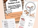 Numbers to 10 - Counting Strategies
