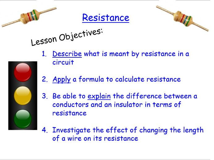 KS3 Physics: Resistance