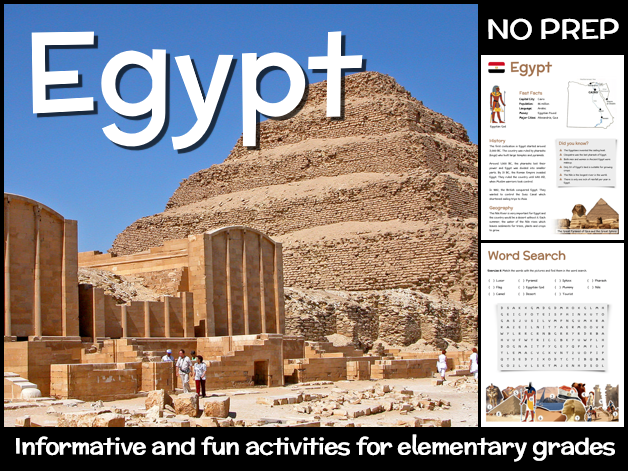 Egypt (country study for elementary grades)
