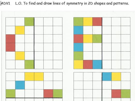 Maths - Find and draw patterns