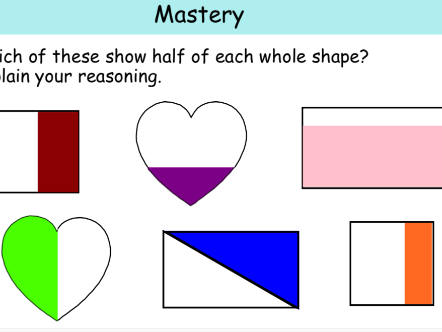Fractions:  Halves & Quarters