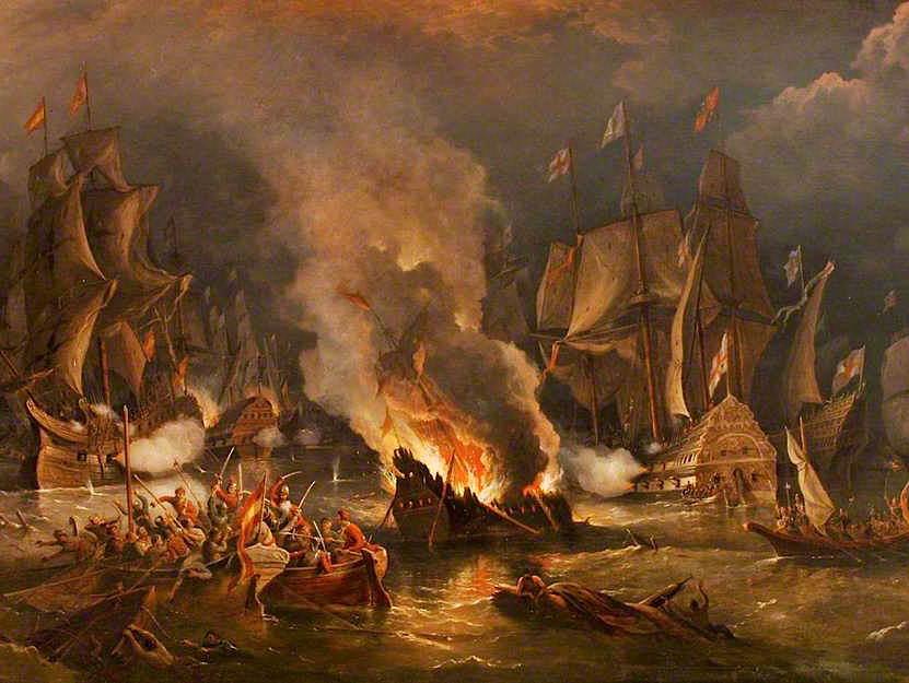 *Updated* AQA GCSE History: British Depth Studies: Elizabethan England, c1568–c1603: The Historic Environment - The Spanish Armada