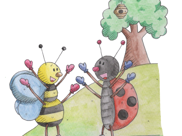 Zee the bee, Phonic Story Pack, ee sound