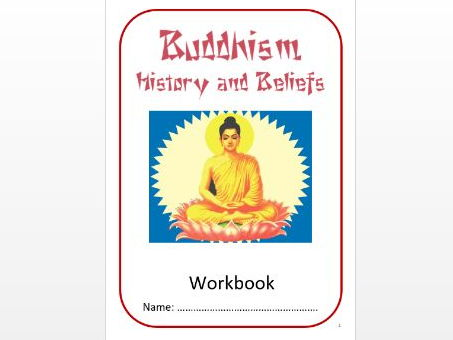 Buddhism: History and Beliefs Workbook: Low Ability