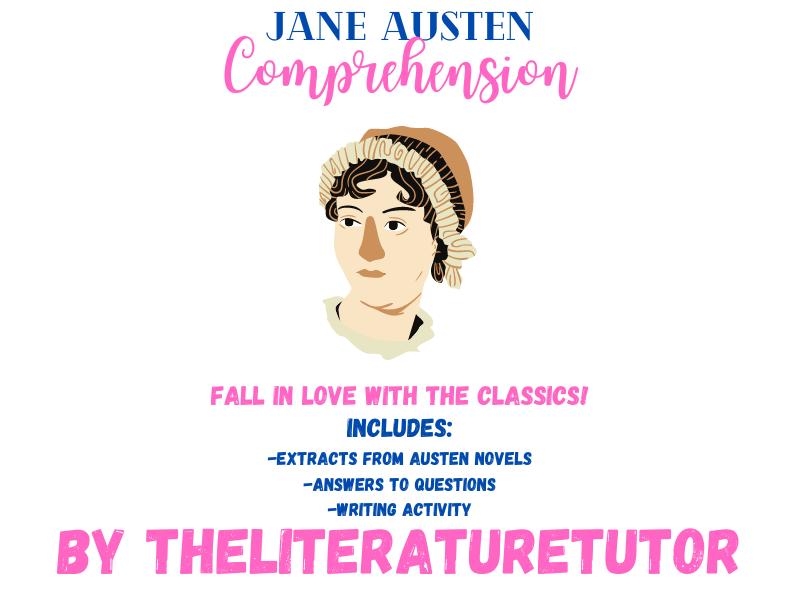 (Remote Learning) Jane Austen Comprehension