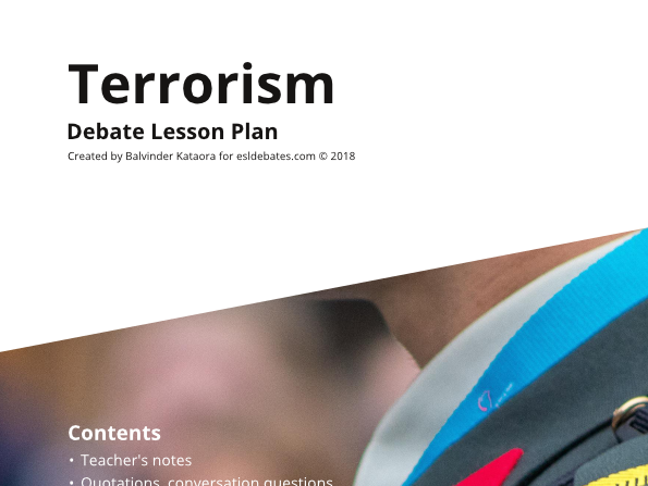 Terrorism - Complete Debate Pack