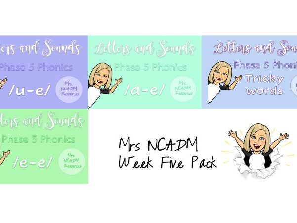 Phase 5a Phonics Week Five - Letters and Sounds