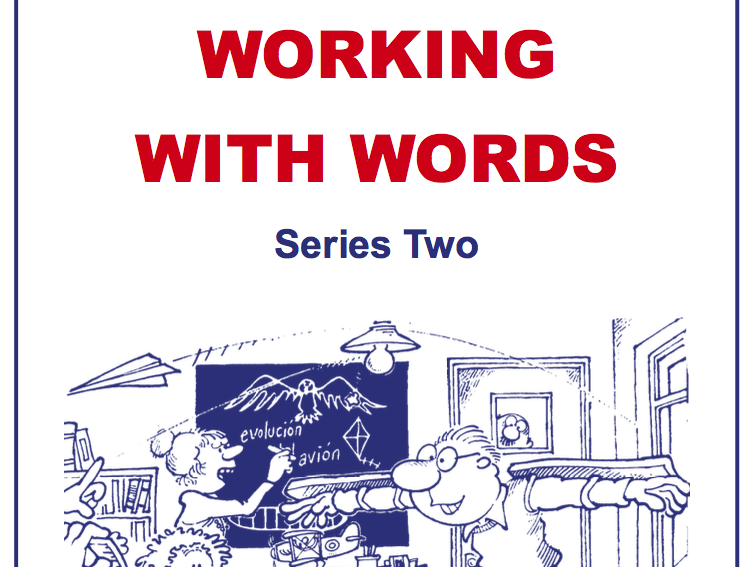Working With Words Series Two Scheme of Work