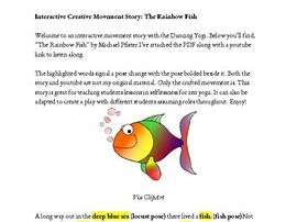 Interactive Yoga Story: The Rainbow Fish