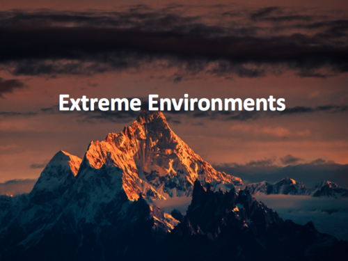Extreme Environments SOW KS3 deserts and mountains