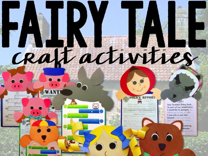 Fairy Tales Craft Activities