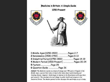 Medicine (Edexcel) Complete Guide