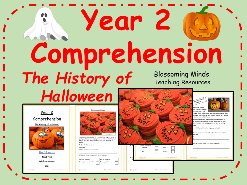 Year 2 non-fiction comprehension - The History of Halloween