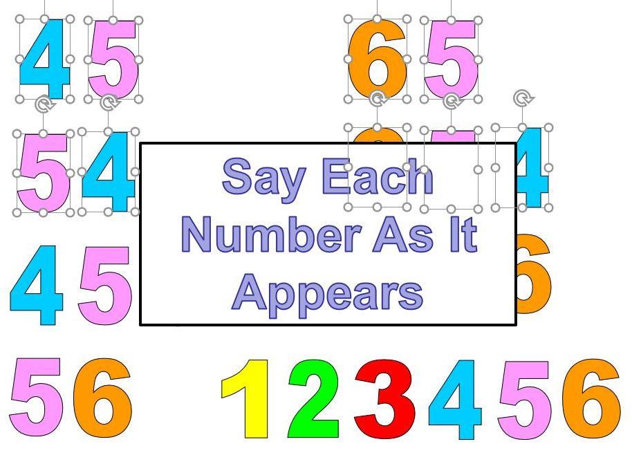 Numbers 1-20 in German