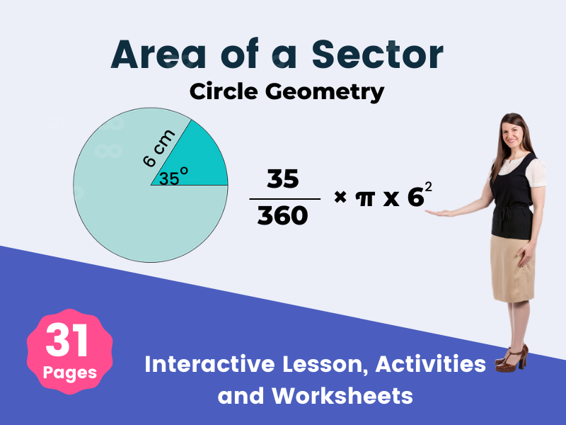 Area of a Sector - Circle Geometry