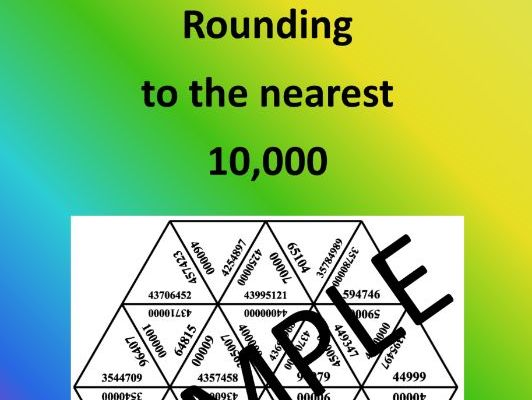 Rounding to the nearest 10,000 - Math Puzzle