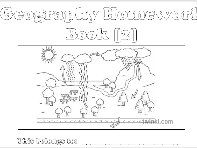 KS3 Interactive Geog Homework Booklet 2