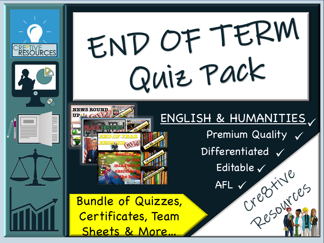 Tutor Quiz Pack