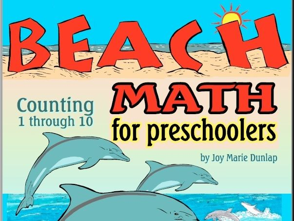 Beach Math for Preschoolers