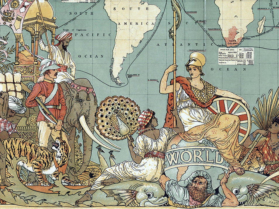 How did the British Empire Grow?