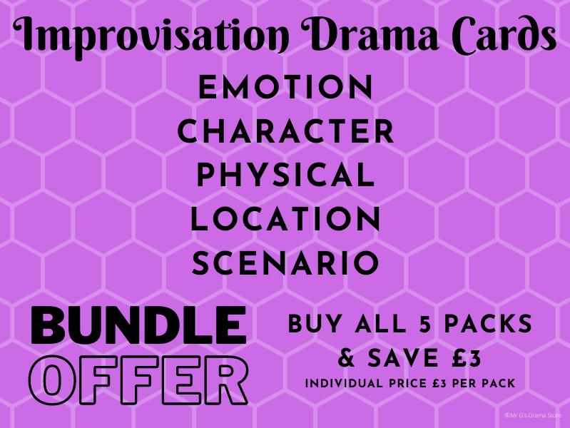 Drama Improvisation Cards