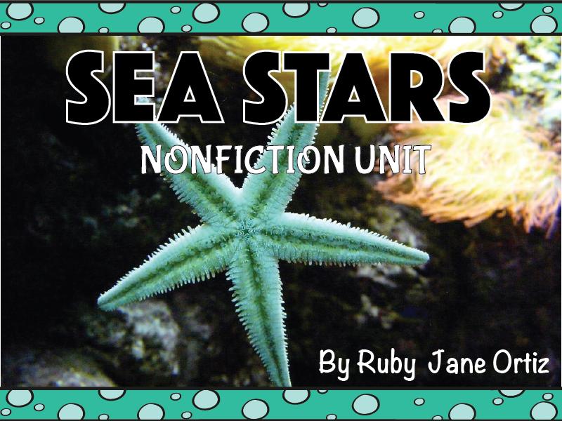 Sea Star Nonfiction Unit