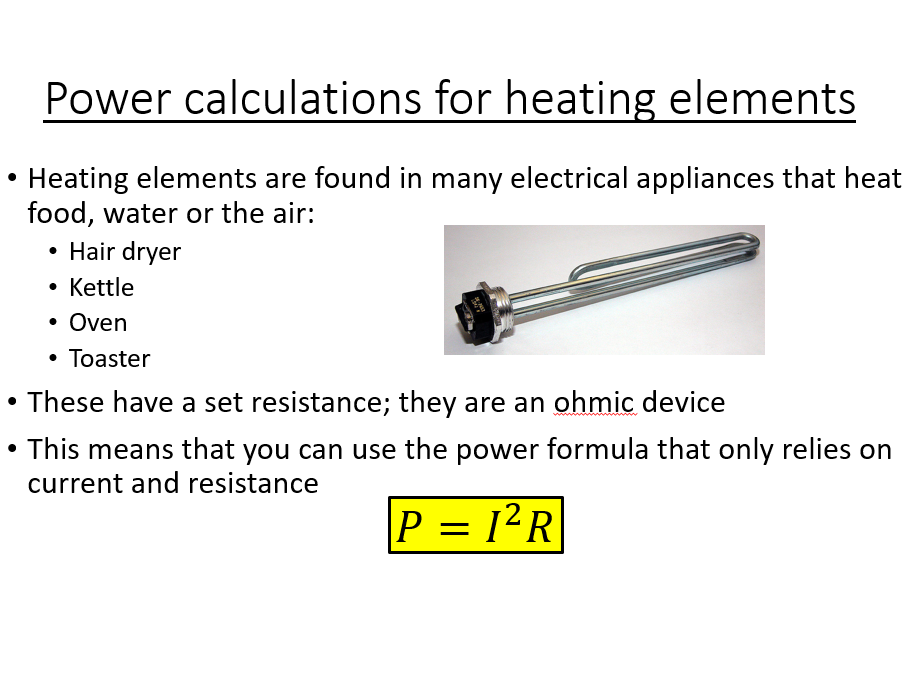 GCSE Science / Physics / (AQA P2) Electrical Power and Energy Transfers (Lesson and PowerPoint)