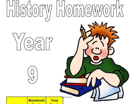 History homework projects - Years 7 to 9 | Teaching Resources
