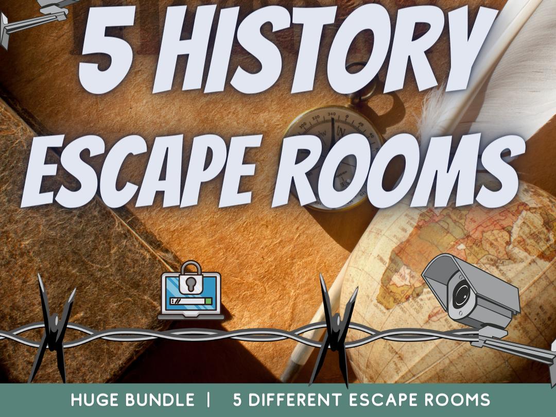 History Revision Escape rooms