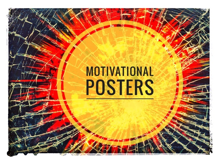Poster Bundle. 40 motivational posters