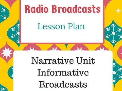 Radio Broadcasts Lesson Plan