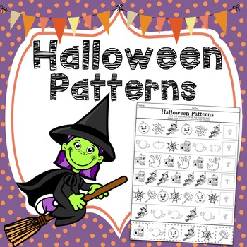 Halloween Patterns ~ Cut & Paste The Pictures to Extend Patterns