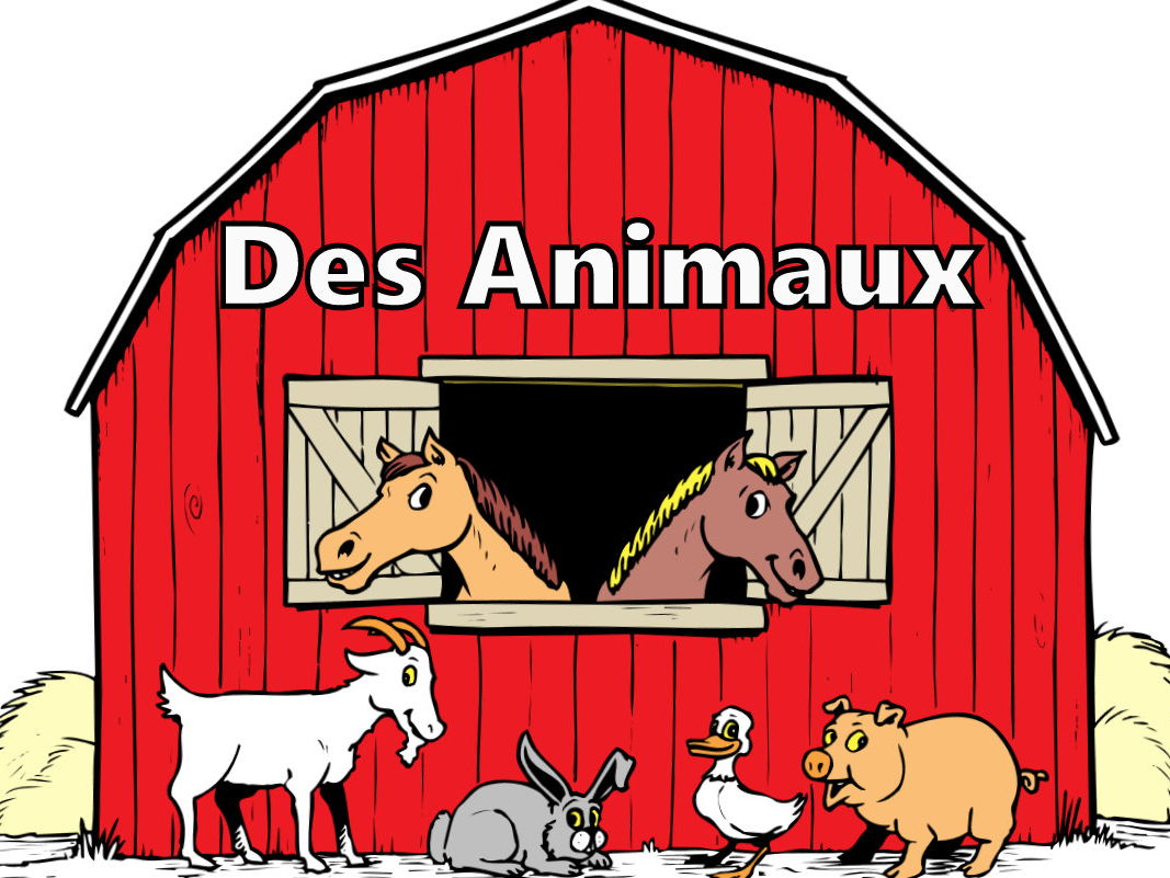 FRENCH - Animals - DES ANIMAUX BUNDLE