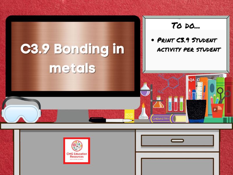 SC3.9 Bonding in metals (AQA 9-1 GCSE Chemistry)