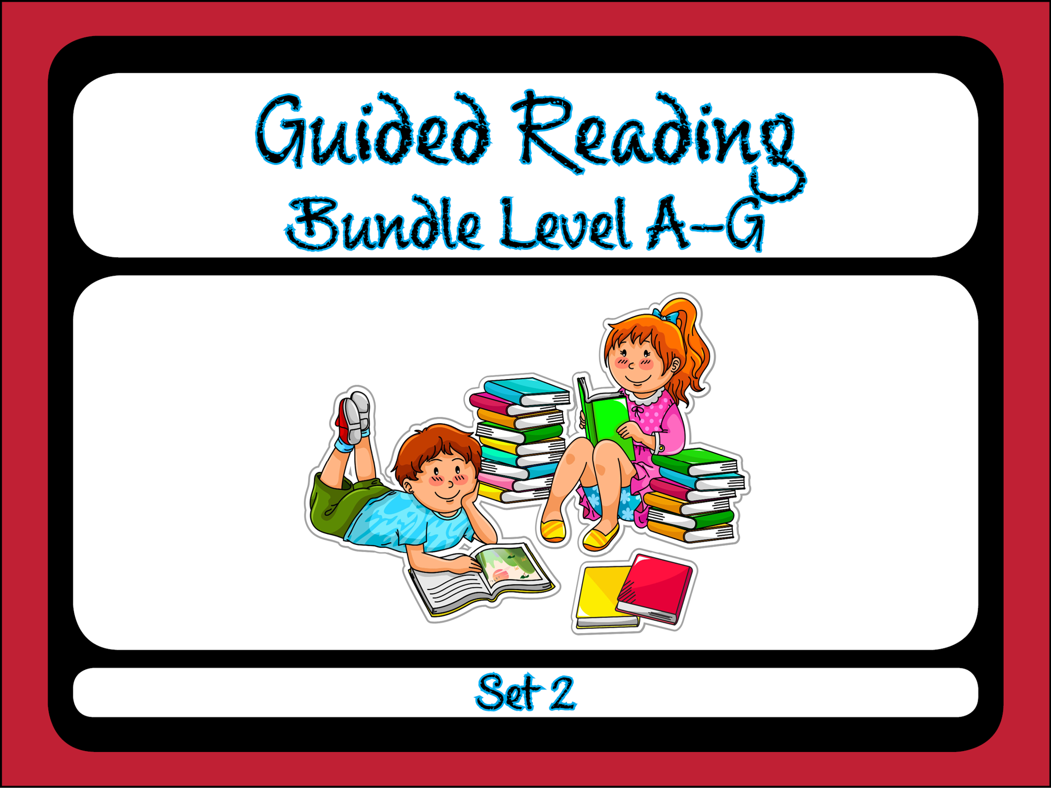 Guided Reading Level A-G Set 2