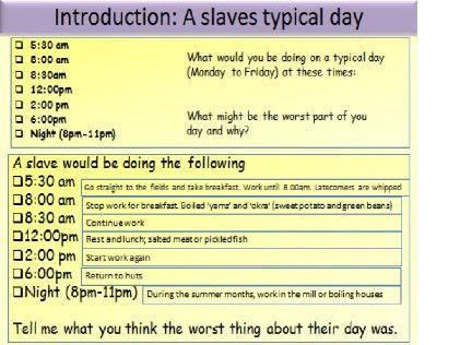 Britain's transatlantic slave trade: Slave Plantations