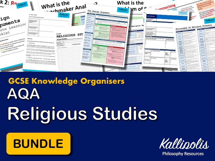 GCSE AQA Religious Studies Knowledge Organisers - Revision Pack