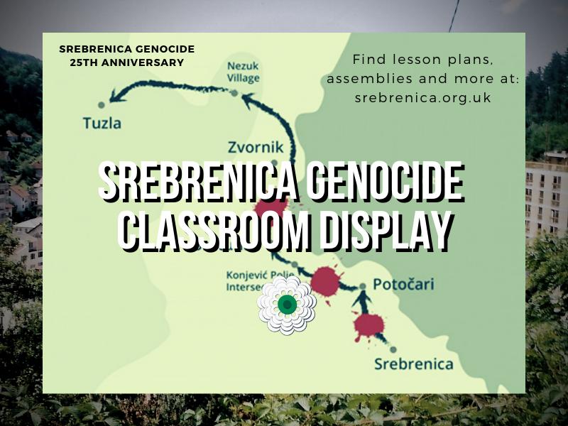 Srebrenica Genocide and Bosnian War Classroom Display