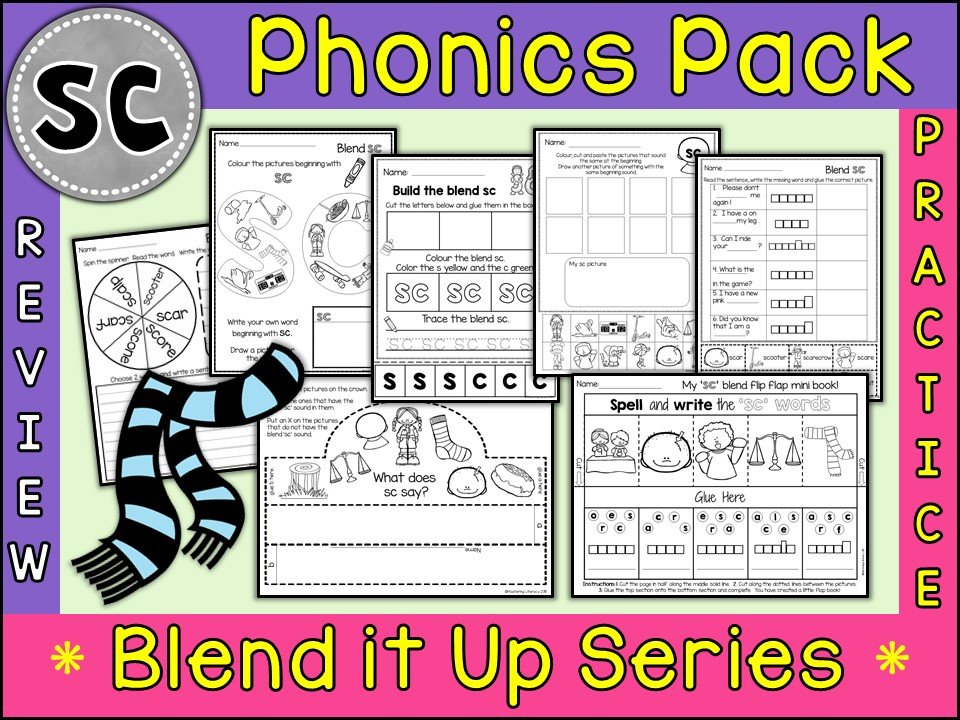 Phonics: Phonics Blend SC