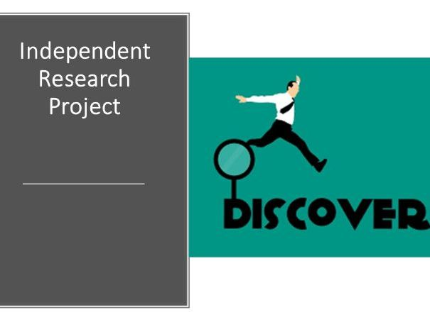 Independent research project template (basic)