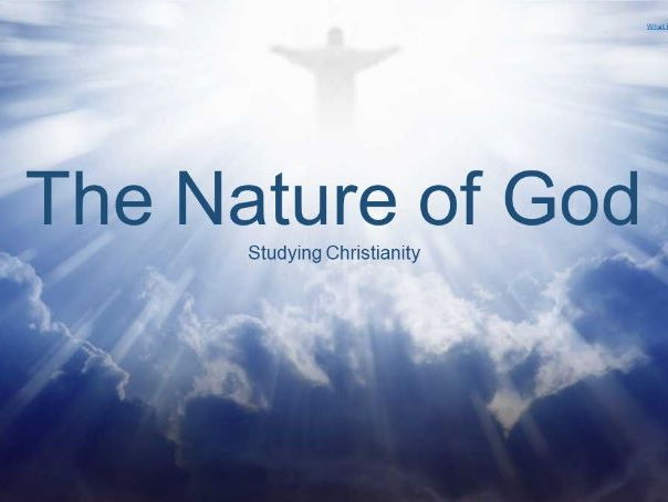 Nature of God - Christianity