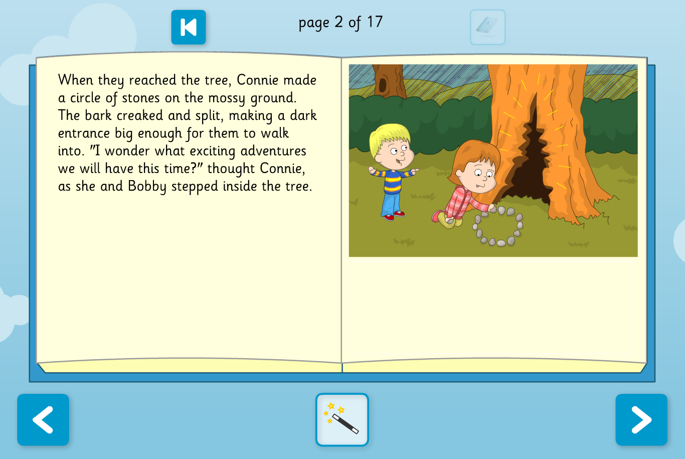 The Wizard's Assistant Interactive Storybook - Reading Level B - KS1 Literacy
